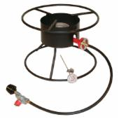 King Kooker 12 in. Outdoor Cooker with 17 in. Top Ring